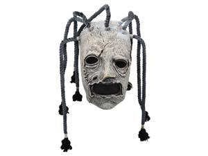 For Corey Taylor Full Head Latex Mask Dreadlocks Slipknot Fancy Dress Halloween