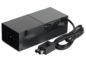 Ionlyyou® AC Adapter Power Supply Cord for Microsoft Xbox ONE (Output: 150W, 12V 10A) - Includes Charging Brick & Cable with US Plug (Input: AC 100-240V)