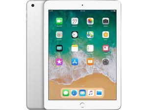 """Apple iPad 9.7"""" 6th Generation (Early 2018),128GB, Wi-Fi Only - Silver"""