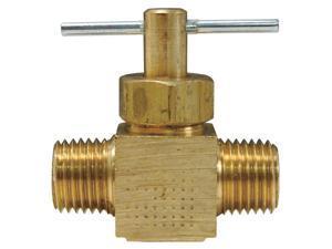 Dixon 31090814 Nylon//Brass Push-in Male Elbow 5//16 x 1//4 Male NPT 8mm