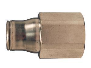 Dixon 30146018 Brass Legris Push-in Fem Connector 3//8 Tube x 3//8 Fem NPT