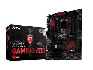 MSI Z170A GAMING M3 LGA 1151 Intel Z170 HDMI SATA 6Gb/s USB 3.1 ATX Intel Motherboard