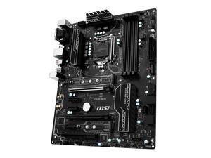 MSI Z270 PC MATE LGA 1151 Intel Z270 HDMI SATA 6Gb/s USB 3.1 ATX Intel Motherboard