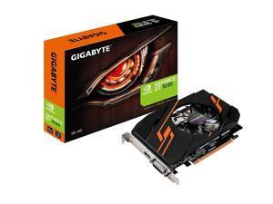 GIGABYTE GeForce GT 1030 DirectX 12 GV-N1030OC-2GI 2GB 64-Bit GDDR5 ATX Video Cards
