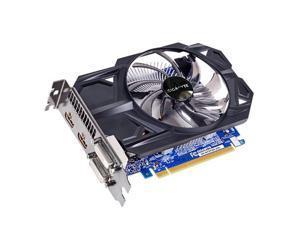 GIGABYTE GeForce GTX 750 Ti DirectX 12 GV-N75TD5-2GI 2GB 128-Bit GDDR5 PCI Express 3.0 x16 ATX Video Card