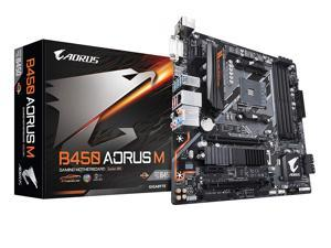 GIGABYTE B450 AORUS M (rev. 1.0) AM4 AMD B450 SATA 6Gb/s USB 3.1 HDMI Micro ATX AMD Motherboard