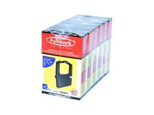 Fullmark N639BK Seamless Nylon Ribbon compatible replacement for Okidata ML 182/320/390/720/790, Black, 6-pack