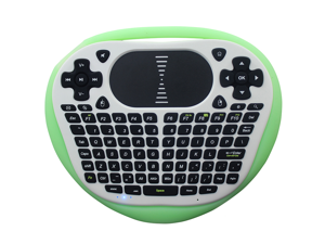 Glow in The Dark Mini Keyboard TouchPad for Android TV Box, Tablet, Laptop, or Desktop Computer (Glowing)