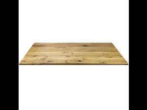 """Oak Veneer Natural Wood Top 48""""x30"""""""