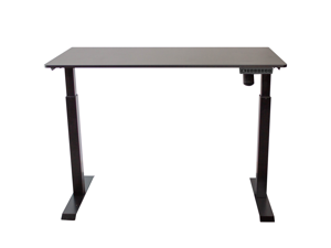 AnthroDesk Sit to Stand Height Adjustable Programmable Standing Desk Workstation with Table Top, 120 x 60 cm [47.2 x 23.6 Inches]