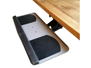 Keyboard Tray With Adjustable Height And Tilt