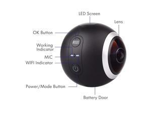 SJ360 Panorama High-Resolution Video Action Camera