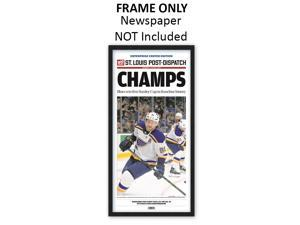 St. Louis Post-Dispatch - St. Louis Blues Newspaper Frame