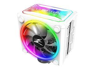 Zalman CNPS 16x, Real RGB LED CPU Cooler with 4D Patented Corrugated Fin Design, 120mm, for Intel & AMD (White)