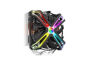 Zalman CNPS17x CPU Cooler with 4D Patented Corrugated Fin Design for Intel & AMD, RGB SYNC, 140mm