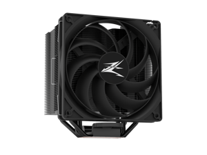 Zalman CNPS 10X Performa Black CPU Cooler, Ultra Quiet Extreme Performance With 135mm Annular Fan 1500RPM, 75 CFM, 180W TDP, 4 Heat Pipes, STC 8 Thermal Paste Included