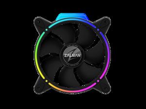ZALMAN ZM-RFD120 Addressable RGB LED Case Fan Front / Rear Double Spectrum effect Long Life Hydraulic Bearing