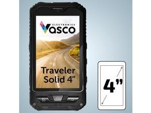 "Vasco Traveler Solid 4"": Waterproof Voice Translator, GPS Navigation, Free Phone, Guidebook"