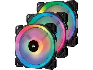 Corsair CO-9050072-WW LL Series LL120 RGB, 120mm Dual Light Loop RGB LED PWM Fan