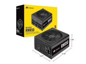 CORSAIR RM Series RM850 CP-9020196-NA 850W ATX12V / EPS12V SLI Ready CrossFire Ready 80 PLUS GOLD Certified Full Modular Power Supply