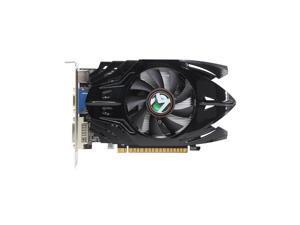 MAXSUN GeForce GT 730 DirectX 12 730HH4G 4GB 128-Bit DDR3 PCI Express 2.0 x16 Standard ATX Video Card HDMI+DVI+VGA