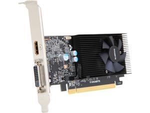 GIGABYTE GeForce GT 1030 DirectX 12 GV-N1030D4-2GL 2GB 64-Bit DDR4 Low Profile Video Card 2GB 64-Bit DDR4