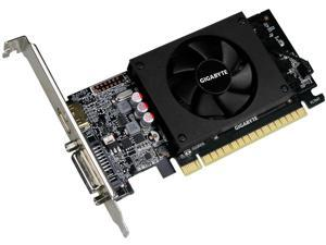 GIGABYTE GeForce GT 710 DirectX 12 GV-N710D5-2GL 2GB 64-Bit DDR5 PCI Express 2.0 x8 Low Profile Video Card