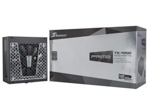 Seasonic PRIME TX-1000, 1000W 80+ Titanium, Full Modular, Fan Control in Fanless, Silent, and Cooling Mode, 12 Year Warranty, Perfect Power Supply for Gaming and High-Performance Systems, SSR-1000TR
