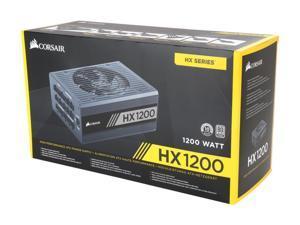 CORSAIR HX Series HX1200 CP-9020140-NA 1200W ATX12V v2.4 / EPS12V 2.92 80 PLUS PLATINUM Certified Full Modular Power Supply