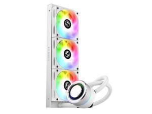 LIAN LI GALAHAD AIO 360 RGB WHITE, Triple 120mm Radiator Dim. 397.5 x 123.5 x 27mm Addressable RGB Fans AIO CPU Liquid Cooler