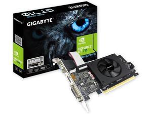 Gigabyte GeForce GT 710 2GB Graphic Cards and Support PCI Express 2.0 X8 Bus Interface. Graphic Cards GV-N710D5-2GIL