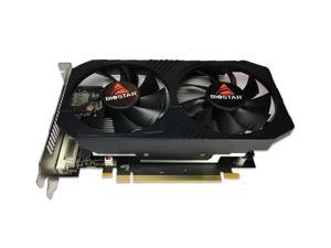 Biostar RX 560 4GB  Radeon RX 560 4GB GDDR5 128-Bit DirectX 12 PCI Express 3.0 DVI-D Dual Link, HDMI, DisplayPort and Dual Cooling Fan Gaming Edition VA5615RF41-TBVRA-BS2