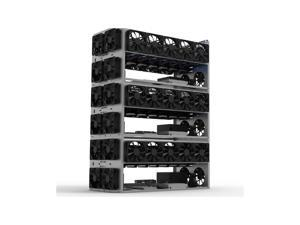 DIY Mining Frame Rig Case Mining Frame For 6-10 GPU Mining Crypto Currency Rigs Miner Without Fan