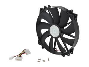 Cooler Master MegaFlow 200 - Sleeve Bearing 200mm Silent Fan for Computer Cases (Black)Sleeve