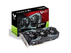 MAXSUN GeForce GTX 1660 Ti iCraft 6GB 192-Bit GDDR6 Gaming Video Graphics Card GPU with 3 Fans Performance GDDR6 Cooling & RGB Lighting