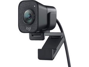 Logitech StreamCam, 1080P HD 60fps Streaming Webcam with USB-C and Built-in Microphone (In Hand) Smart Auto-Focus & exposure ai-enabled facial tracking in Logitech capture delivers accurate focus and