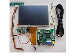 7 inch 1024600 Touch Screen DIY Kit LCD Module with Car Display Monitor Rear Veiw HDMI VGA USB AV Raspberry Pi