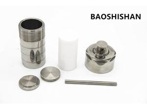 10mL Teflon Lined Hydrothermal Synthesis Autoclave Reactor Lab Equipment