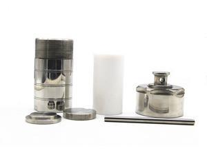 300ml Stainless Steel Hydrothermal Synthesis Autoclave Reactor,Digestion high-pressure tank with Teflon Lining/PTFE lined for Rapid Digestion of Insoluble Material in 220? 3MPa(Customizable)