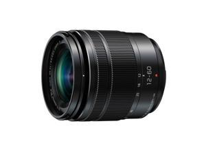 Panasonic 12-60mm F/3.5-5.6 Lumix G Power O.I.S. Micro Four Thirds Lens - Black