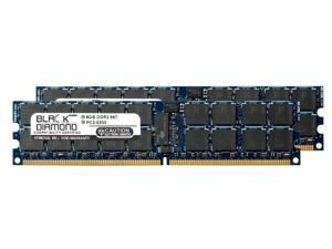 16GB 2X8GB Memory RAM for Sun Fire x4140, x4240, x4440, X4140, X4240 240pin PC2-5300 667MHz DDR2 RDIMM Black Diamond Memory Module Upgrade
