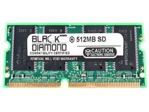 512MB RAM Memory for Apple iMac 800MHz G4 17-inch User Memory Slot 144pin PC133 SDRAM SO-DIMM 133MHz Black Diamond Memory Module Upgrade