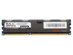 8GB RAM Memory for IBM BladeCenter HS22 (Type 7870) 240pin PC3-10600 DDR3 ECC Registered RDIMM 1333MHz Black Diamond Memory Module Upgrade