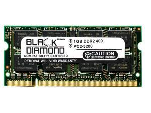 1GB Black Diamond Memory Module for Dell Inspiron 6000 Extreme DDR2 SO-DIMM 200pin PC2-3200 400MHz Upgrade