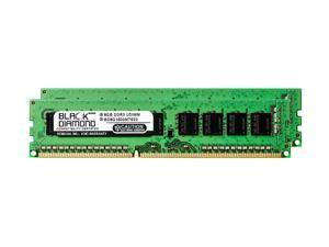 16GB 2X8GB RAM Memory for Dell PowerEdge T110 II Black Diamond Memory Module 240pin PC3-12800 1600MHz DDR3 ECC UDIMM Upgrade