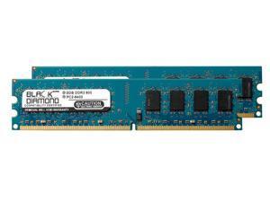 4GB 2X2GB RAM Memory for XFX NForce 680I SLI DDR2 DIMM 240pin PC2-6400 800MHz Black Diamond Memory Module Upgrade