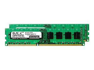 4GB 2X2GB RAM Memory for ASRock Motherboards P67 Extreme6 DDR3 DIMM 240pin PC3-8500 1066MHz Black Diamond Memory Module Upgrade