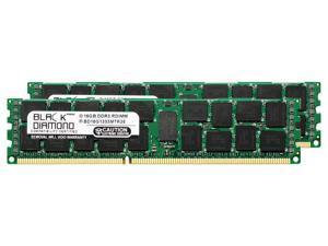 32GB 2X16GB Memory RAM for Dell PowerEdge T610, R610, R710, R510, T710 240pin PC3-10600 1333MHz DDR3 RDIMM Black Diamond Memory Module Upgrade