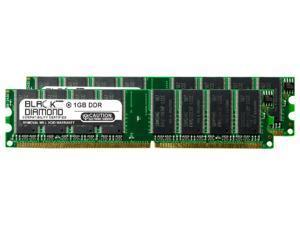 2GB 2X1GB RAM Memory for Gateway E series E 4100 FX Pro R1 DDR DIMM 184pin PC3200 400MHz Black Diamond Memory Module Upgrade