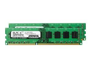 1GB RAM Memory for ASRock Other Systems and Mainboards G43Twins-FullHD 240pin PC3-8500 DDR3 DIMM 1066MHz Black Diamond Memory Module Upgrade